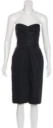Heidi Merrick Coated Midi Dress