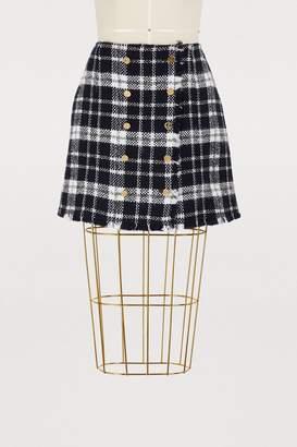 Thom Browne Tartan wool skirt