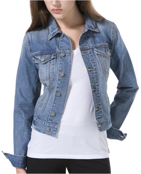 Dusted-Blue Denim Jacket