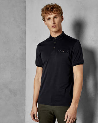 Ted Baker CRITTER Short sleeved cotton polo shirt