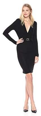 Just Cavalli Womens V-Neck Jersey Dress
