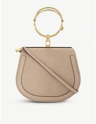 Chloé Nile rounded leather cross-body satchel