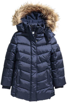 H&M Padded Jacket with Hood - Blue