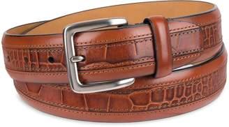 Chaps Men's Leather Dress Belt