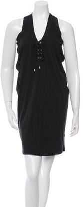 Alice by Temperley Tie-Up Mini Dress $65 thestylecure.com