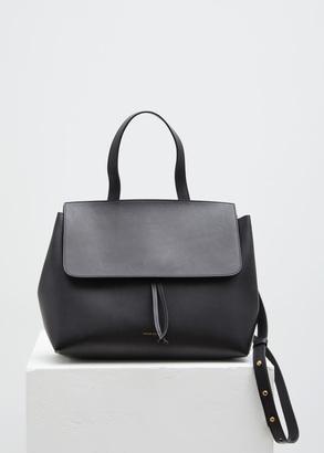 Mansur Gavriel black / flamma lady bag $895 thestylecure.com