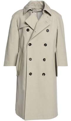 Marni Double-breasted Cotton-blend Trench Coat