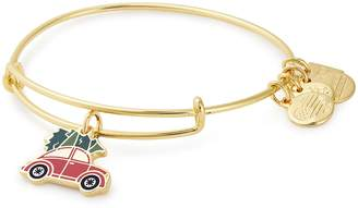 Alex and Ani Charity by Design Christmas Car Adjustable Wire Bangle