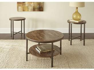 Mercury Row Absher 3 Pieces Coffee Table Set Table Base