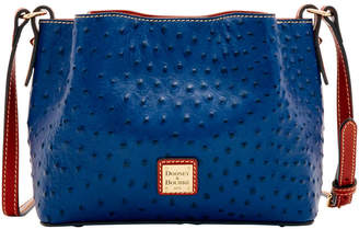 543319e4eb82 Dooney   Bourke Ostrich Mini Barlow Crossbody