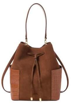 Lauren Ralph Lauren Debby Medium Suede Drawstring Bag