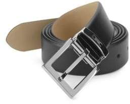 Armani Collezioni Classic Leather Belt