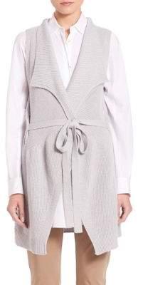 Laura Virgin Wool Long Vest