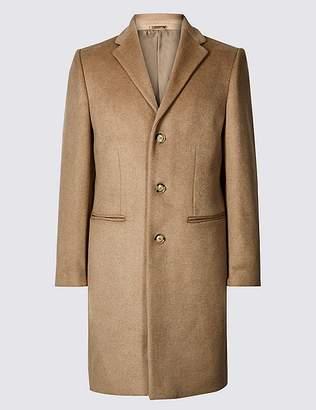 Marks and Spencer Wool Blend Revere Coat
