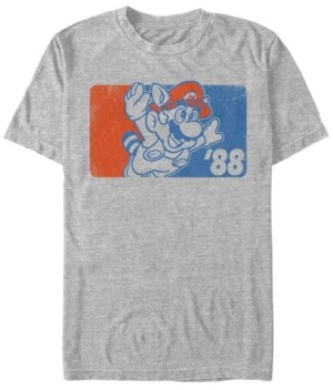 Nintendo Men's Super Mario The Fly Guy of 88 Short Sleeve T-Shirt