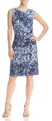 Nic+Zoe Seaside Tile-Print Dress