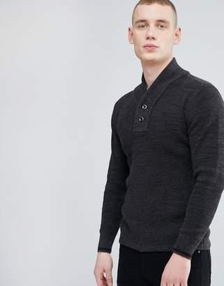 G Star G-Star Dadin Shawl Collar Sweater