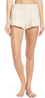 Free People MOVEMENT Fleece Star Shorts