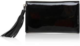 Joanna Maxham Opera Tassel Clutch Black Patent Leather