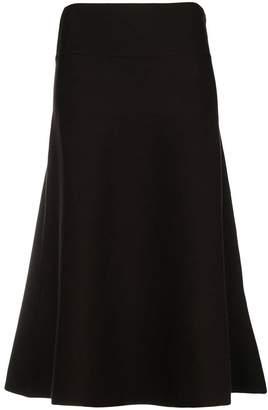 Agnona high waisted swing skirt