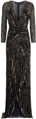 Jenny Packham Phoenix Sequin Gown