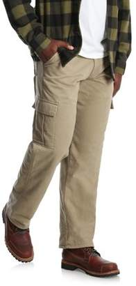 Wrangler Big Men's Fleece Lined Cargo Pant