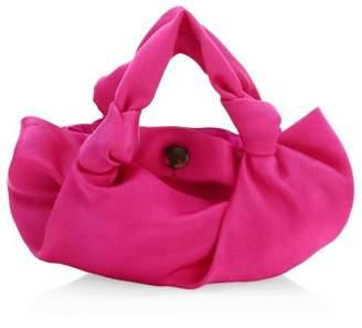 The Row Ascot Two Silk Hobo Bag