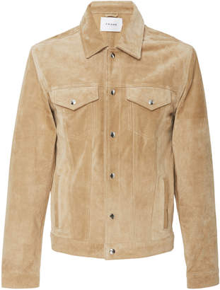 Frame Suede Patch Pocket Jacket