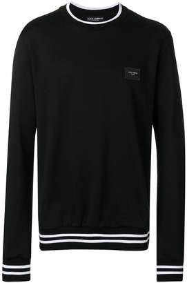 Dolce & Gabbana logo plaque sweatshirt