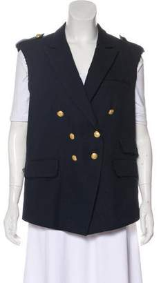 Band Of Outsiders Double-Breasted Woven Vest