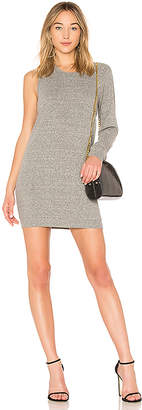Lanston One Sleeve Mini Dress