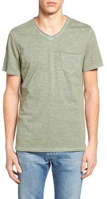 Treasure & Bond Trim Fit Slub V-Neck Pocket T-Shirt $39 thestylecure.com