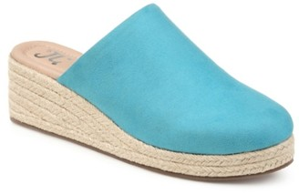 Journee Collection Lolita Espadrille Wedge Mule