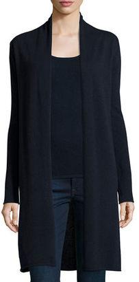 Neiman Marcus Cashmere Collection Long Cashmere Duster Cardigan, Plus Size $355 thestylecure.com