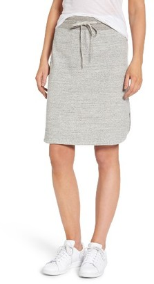 Women's James Perse Fleece Skirt $165 thestylecure.com