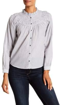 Rebecca Taylor Angelique Striped Shirt