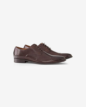 Express Leather Cap Toe Oxford