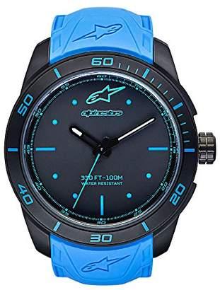 Alpinestars Unisex-Adult Analogue Classic Quartz Watch with Silicone Strap 1037-96004