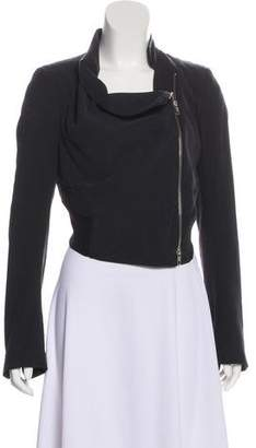 Ann Demeulemeester Structured Cropped Jacket