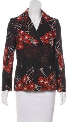 Giambattista Valli Silk-Blend Blazer
