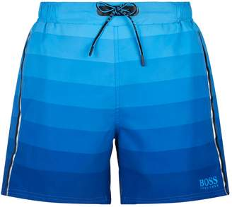 HUGO BOSS Monkfish Striped Swim Shorts