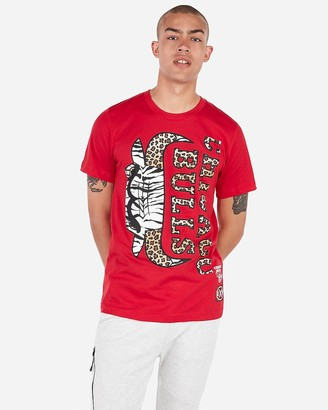 dd578bfb742a0 Express Chicago Bulls Nba Crew Neck Graphic Tee