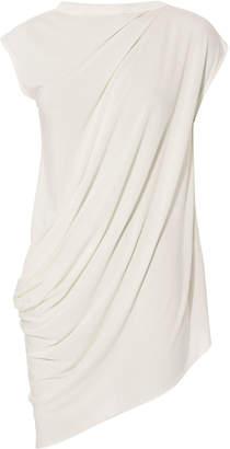 Rick Owens Lilies Asymmetric Cap Sleeve Top