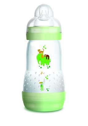 Mam Baby Bottle Easy Start Anti-Colic 260ml Green Teat Flow 2