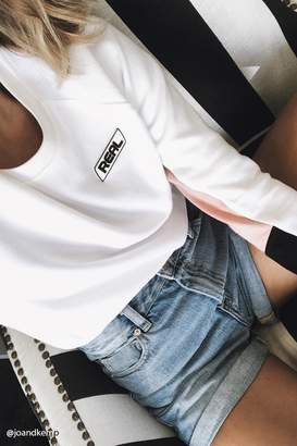 FOREVER 21+ Active Real Graphic Sweatshirt $19.90 thestylecure.com