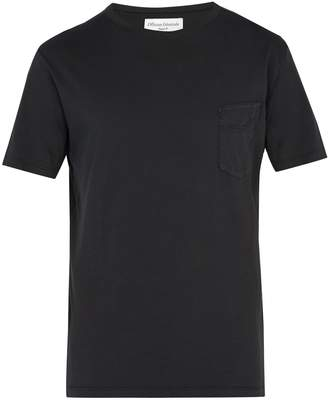 Officine Generale Crew-neck cotton T-shirt