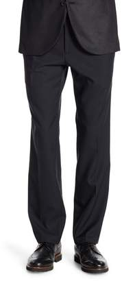 "Kenneth Cole Reaction Modern Stretch Fit Plain Front Trousers - 29-34"" Inseam"