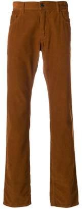 Prada bootcut corduroy trousers