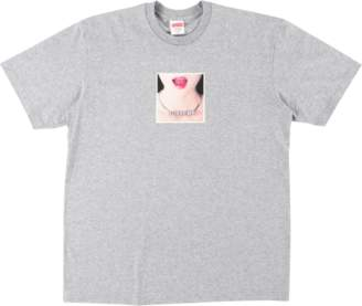 Supreme Necklace Tee - 'SS 18' - Heather Grey
