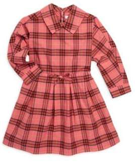 Burberry Little's Girl's& Girl's Cressida Plaid Fit-&-Flare Dress